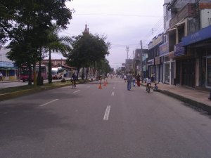 Ciclovía Ibague, fotos ibague, 2007