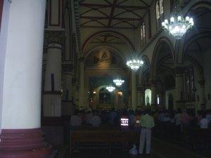 Iglesia de san Roque, interior, ibague tolima colombia, 2007