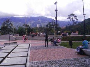 parque, musica, Ibague